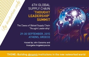 2015 Global Supply Chain 'Thought Leadership' Summit