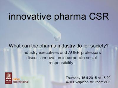 Pharma CSR poster