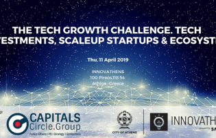 The Tech Growth Challenge forum. Tech Investments, ScaleUP Startups & Ecosystem