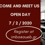 Open Day on the 7th of February, 2020