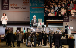 With a strong and established tradition of excellence, MBA International celebrated its 20 years anniversary in a festive event