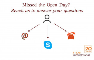 Missed our Open Day? Reach us to answer your questions