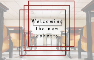 Welcoming the new cohorts new