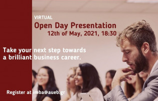 Virtual Open Day Presentation on May 12th, 2021